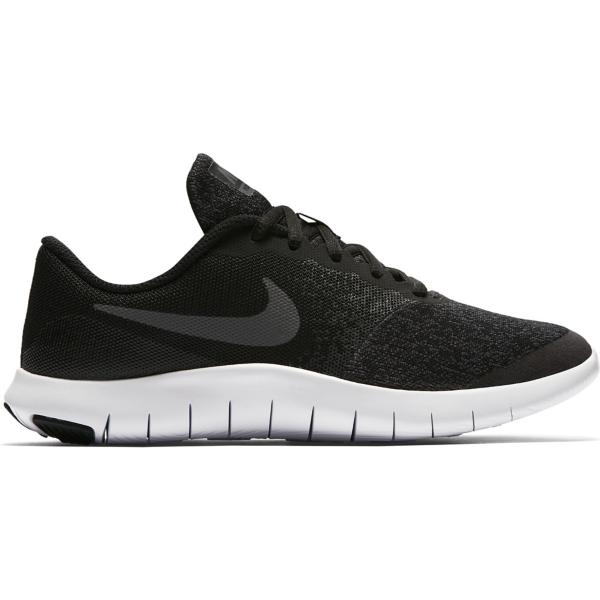 1a4e6fd3eb89 Black Dark Grey-Anthracite-White Tap to Zoom  Grade School Boys  Nike Flex  Contact Running Shoes