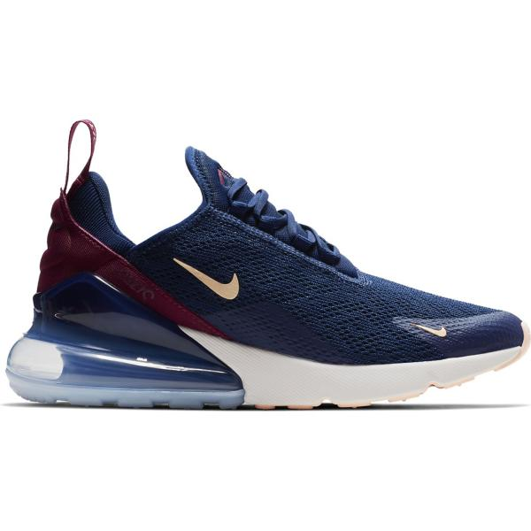 100% authentic e2a67 3d9cb ... Women s Nike Air Max 270 Running Shoes Tap to Zoom  Blue Void Crimson  Tint-True Berry