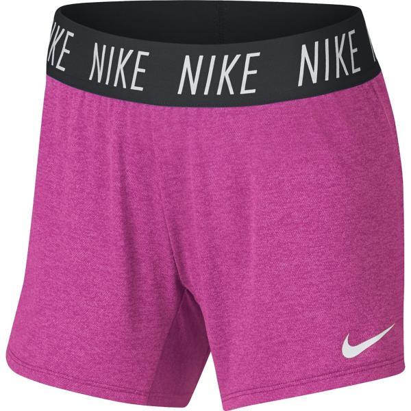 f5151866 ... Girls' Nike Dry Trophy Training Short Tap to Zoom; Black Tap to Zoom;  Laser Fuchsia/White