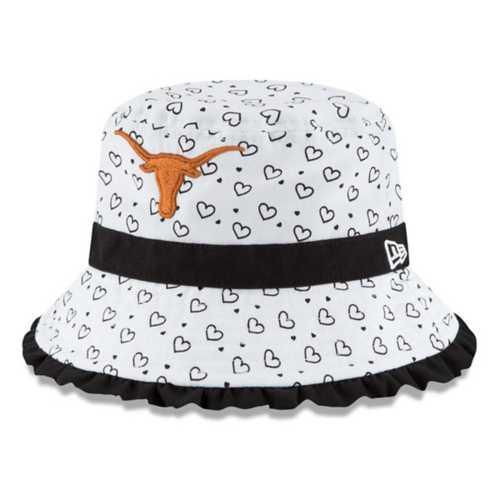289C Apparel Infant Texas Longhorns Frill Bucket Hat