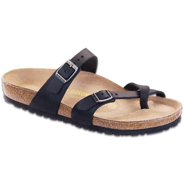 455e357a761 ... Women s Birkenstock Mayari Oiled Leather Sandals Tap to Zoom  Black