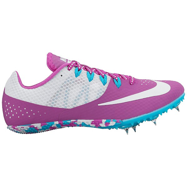 Womens Track Spike  Nike Zoom Rival S 8  Hyper VioletGamma BlueWhite