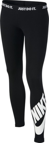 Youth Girls' Nike Sportswear Leg-A-See Tight