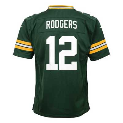 Kids' Nike Green Bay Packers Aaron Rodgers Game Jersey