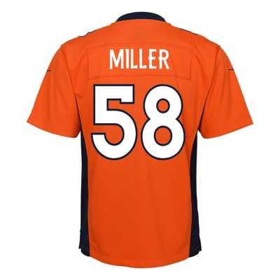 Kids' Nike Denver Broncos Von Miller Game Jersey