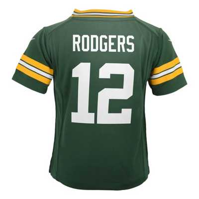Infant Nike Green Bay Packers Aaron Rodgers Game Jersey