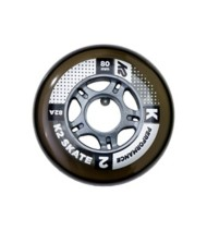 K2 Performance 80MM/82A Inline Wheels 8 Pack With ILQ 7 Bearings
