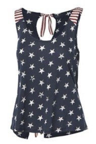 Women's Others Follow Stars & Stripes Tank