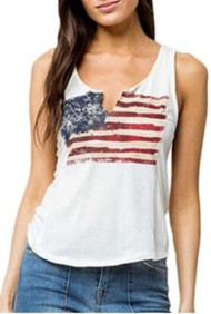 Women's Others Follow Honor American Flag Tank