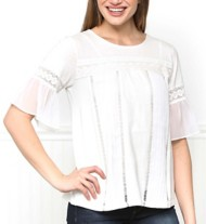 Women's Downeast Pleated Front Shirt