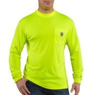 Men's Carhartt Force® Cotton Delmont Long-Sleeve T-Shirt
