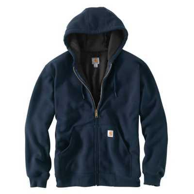 Men's Carhartt Rain Defender Rutland Thermal Lined Full Zip Hoodie