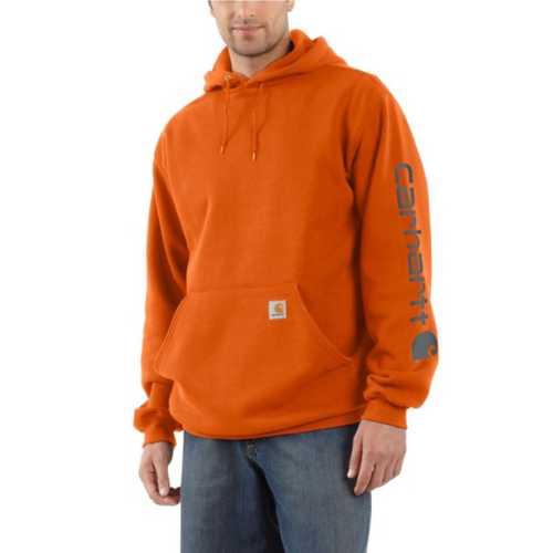 Men's Carhartt Midweight Logo Sleeve Hoodie