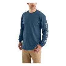 Men's Carhartt Long-Sleeve Graphic Logo Shirt