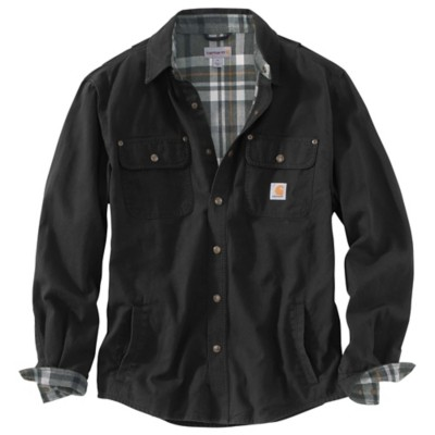 Men's Carhartt Weathered Canvas Shirt Jac