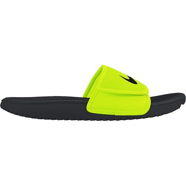 7e04f6dbc3098f Youth Boys  Nike Kawa Adjust Slide Sandals
