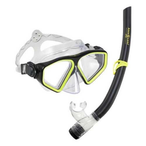 Adult Aqua Lung Saturn Snorkel Combo