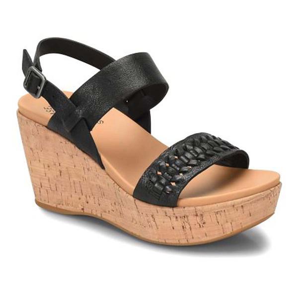 1767e77d4f0 Women s Korks Austin Braid Wedge Sandals