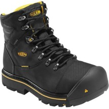 Men's KEEN Utility Milwaukee 6 Inch Steel Toe Work Boots
