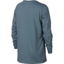 Grade School Boys' Nike Sportswear Football Lace Graphic Long Sleeve Shirt