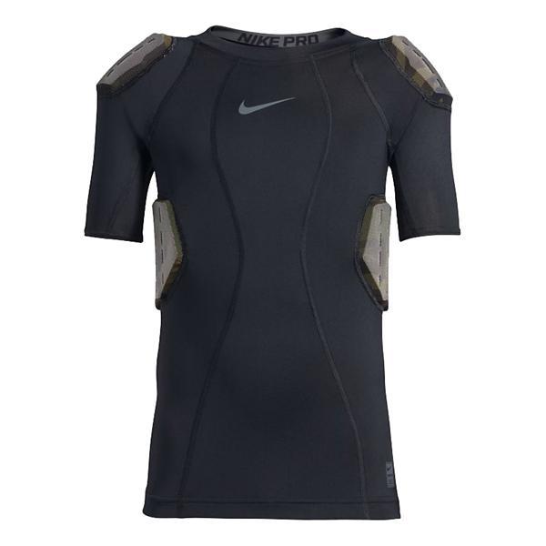 de9c8f66 ... Nike Pro Hyperstrong Core Camo Padded Football Shirt Tap to Zoom;  Black/Dark Grey/Flint Grey