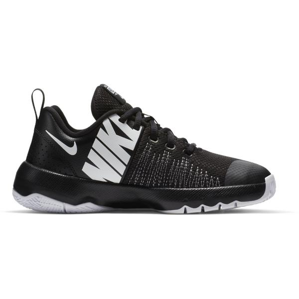 57bccd1bcfa5 ... Nike Team Hustle Quick Basketball Shoes Tap to Zoom  Black White