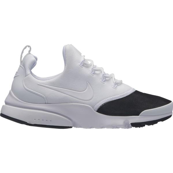 White/White-Metallic Silver-Black