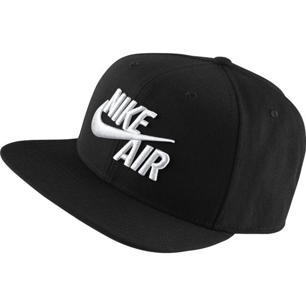 68404f93475747 ... Nike Air Pro Classic Snapback Hat Tap to Zoom  Black White