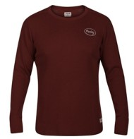 Men's Hurley Stitch Thermal Long Sleeve Shirt