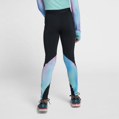 Grade School Girls' Nike Pro Printed Tight