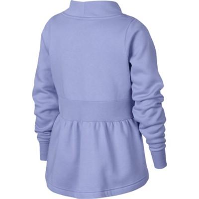 Grade School Girls' Nike Sportswear Long Sleeve Fleece Crew