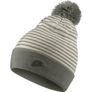 Nike Sportswear Striped Pom Beanie