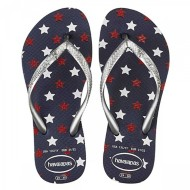 Preschool Girls' Havaianas Slim Stars Glitter Sandals