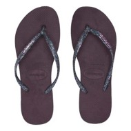 Women's Havaianas Slim Logo Metallic Flip Flop Sandals