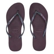 Women's Havaianas Slim Logo Metallic Flip Flop Sandals