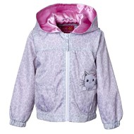 Infant Girls' Pink Platinum Cheetah Windbreaker Jacket