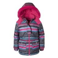 Preschool Girls' Wippette Striped Ski Jacket