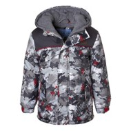 Youth Boys' Wippette Camouflage Ski Jacket