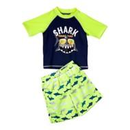 Toddler Boys' iXtreme Shark Territory Rashguard Set