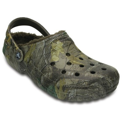 Men's Classic Realtree Xtra Fuzz Lined Clogs