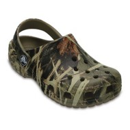 Grade School Crocs Classic Realtree Clogs