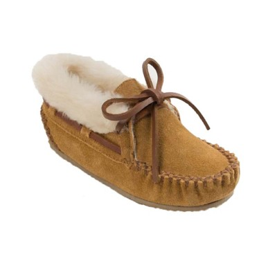 Preschool Girls Minnetonka Charley Slippers