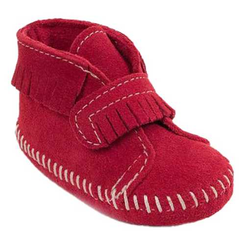 Infant Minnetonka Front Strap Booties