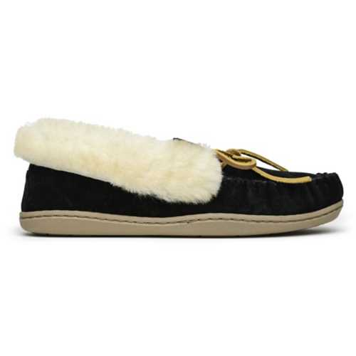 Women's Minnetonka Alpine Sheepskin Moc Slippers