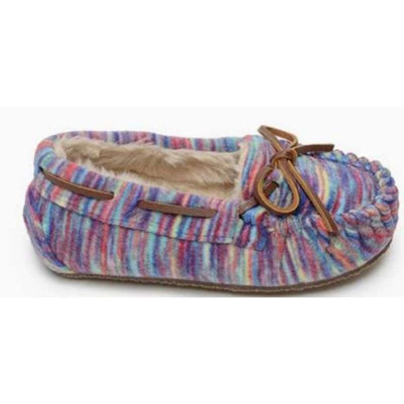 Girls' Minnetonka Cassie Fleece Slippers