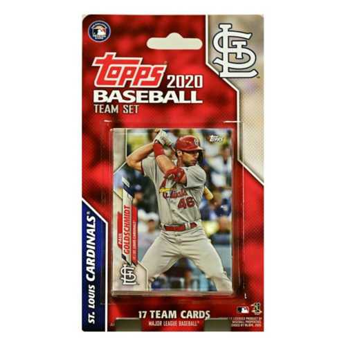 C and I Collectables St. Louis Cardinals 2020 Team Card Set