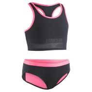 Grade School Girls' Under Armour Racer Tankini Set