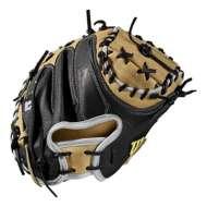 """Wilson 2019 A2000 M1 SuperSkin 33.5"""" Baseball Catcher's Mitt"""