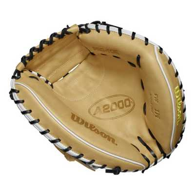 "Wilson 2019 A2000 M1 SuperSkin 33.5"" Baseball Catcher's Mitt"