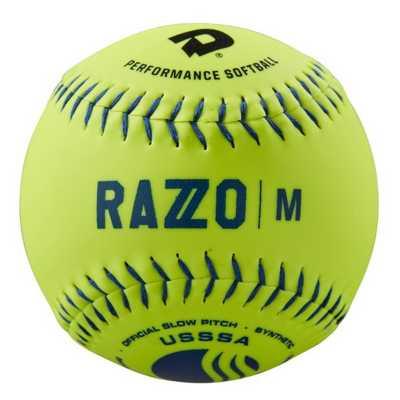"DeMarini 12"" USSSA Razzo Classic M Synthetic Slowpitch Softball"